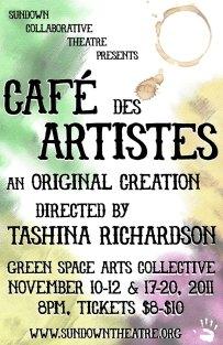 CAFÉ DES ARTISTES dir. Tashina Richardson 2011