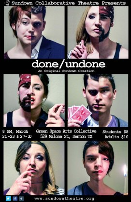 DONE/UNDONE by Tashina Richardson & Nicholas Ross 2014