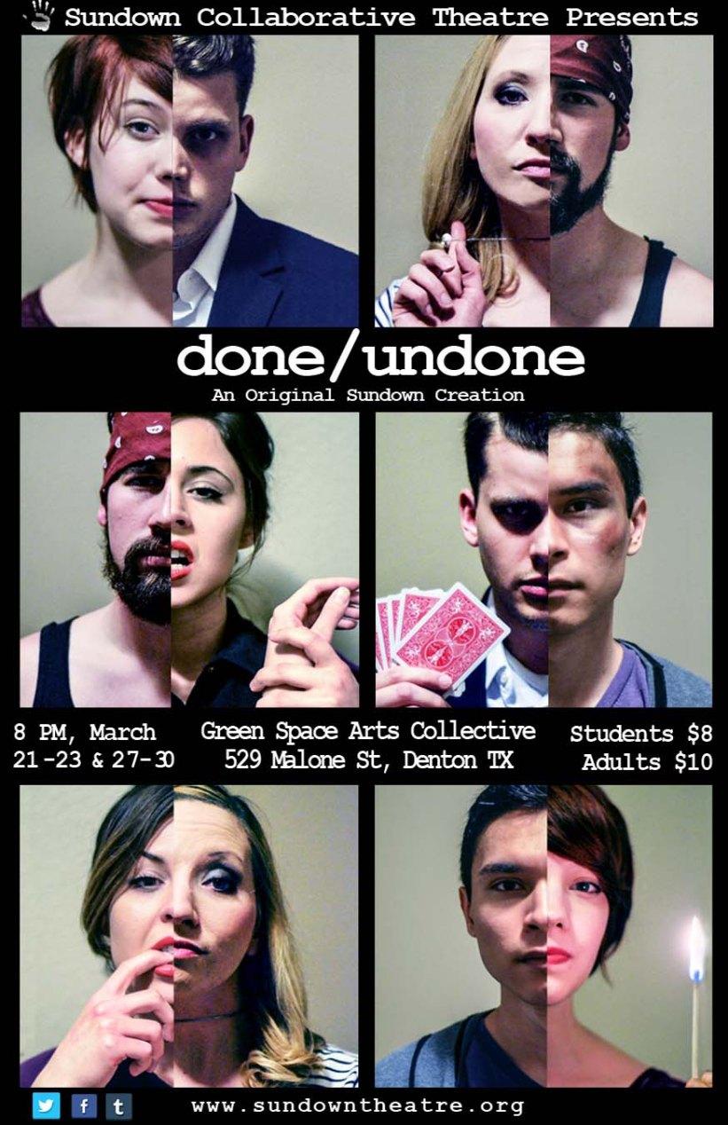 DONE/UNDONE by Tashina Richardson & Nicholas Ross 2014