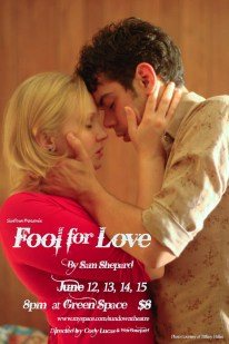 FOOL FOR LOVE by Sam Shepard dir. Cody Lucas 2008