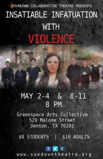 INSATIABLE INFATUATION WITH VIOLENCE dir. Paul Vaughn 2014
