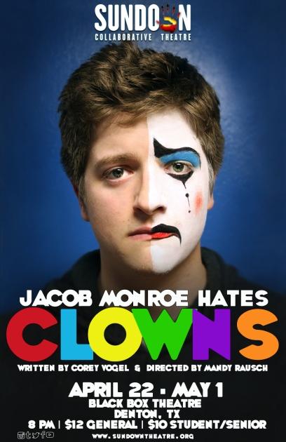 JACOB MONROE HATES CLOWNS dir. Mandy Rausch 2016