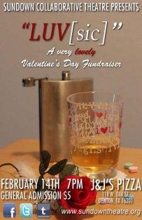 LUV[SIC] Valentine's Day Fundraiser 2012