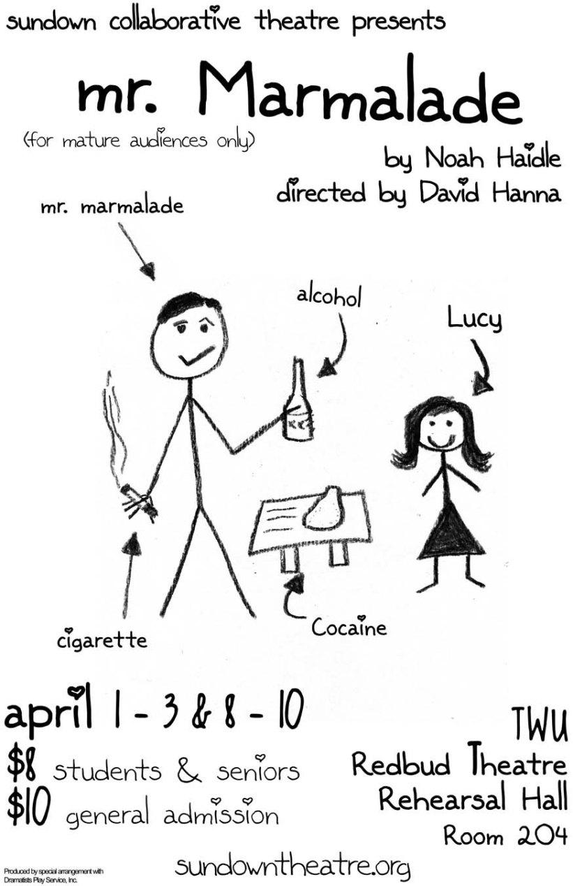MR. MARMALDE by Noah Haidle dir. David Henna 2010