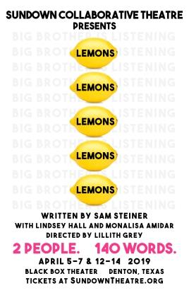 LEMONS, LEMONS, LEMONS, LEMONS, LEMONS by Sam Steiner
